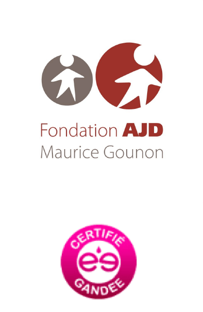 Logo FONDATION AJD certifié Gandee